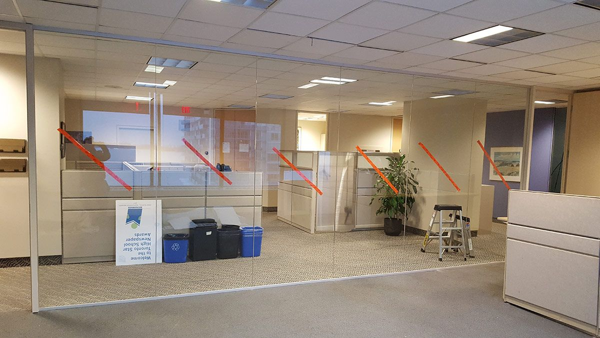 commercial glass showcase
